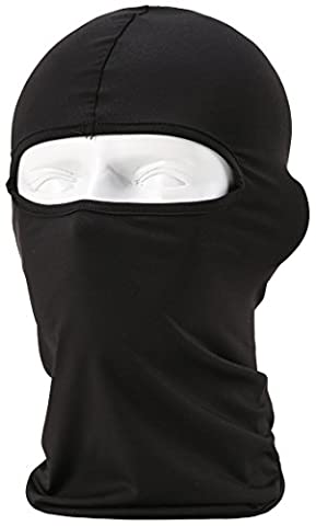 Unisex Balaclava - Sportausrüstung / Winddicht / Staubdicht Balaclava / Adjustable Riding Gesichtsmaske,Schwarz