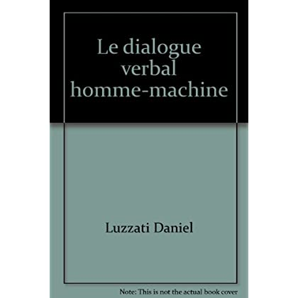 Le dialogue verbal homme-machine