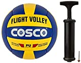 Cosco Flight Volley Ball, Size 4 and Cosco Hand Pump