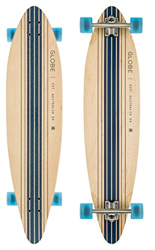 Globe Longboard Pinner Complete, Natural/Blue