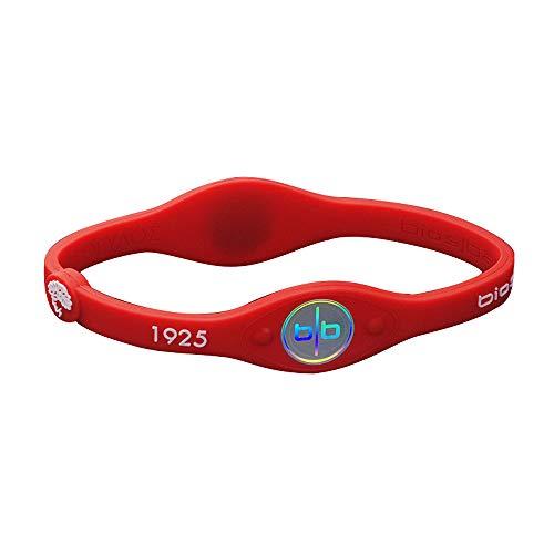 ANLW Ladies Negative Ion Armband Balance Health Armband Red Pure Silica Gel Power Balance Armband acelet