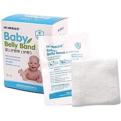 Medizinischer Baby-Nabel-Gurt, Nabel, Baumwollsterilisationsprodukt, Passend Für Neugeborenes Baby, 8 Stücke Pro Kasten (7 * 40Cm)
