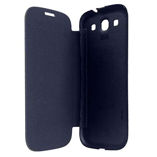TfPro Bell Premium Leather Finish Flip Case Cover for Karbonn Titanium S5 – Black