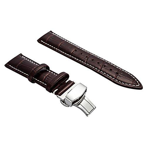 BONSTRAP Herren Leder Armband 19mm Braun (Mk Armbändern Für Frauen Verkauf)