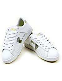 C1rca skateboarding shoes 105 Black / Silver / Mini Icon - Sneakers Trainers - Circa, Schuhgrösse:36.5, de color (los zapatos):White / Green Originals Plaid
