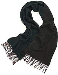 Prettystern foulard réversible bicolore en cachemire unisexe 52f6ddbb22f
