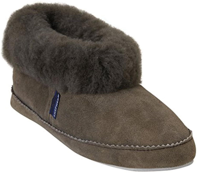 Shepherd ( Wassbring ) - Zapatillas de estar por casa para mujer Beige piedra, color Beige, talla 39 1/3