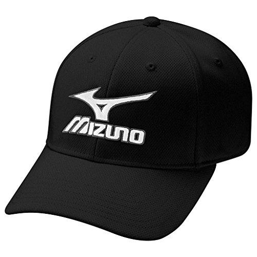 Mizuno Casquette de golf (Lot de 6)–Noir, Taille unique
