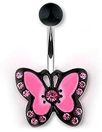 Piercing Nombril Papillon ZOE