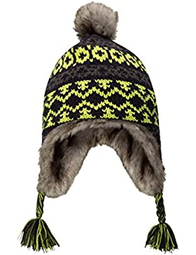 Mountain Warehouse Criss Cross Jacquard Kids Hat Lima Talla única