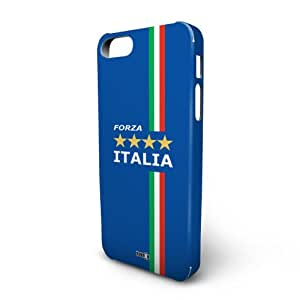 YOUNiiK Handy-Schutzhülle für iPhone 5-Fan Artikel Fußball Italien-Forza Italia