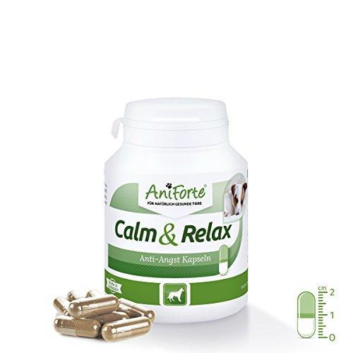 AniForte Calm & Relax Anti-Angst-Kapseln 100 Stück – Naturprodukt für Hunde - 2