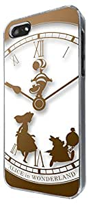 459 - Vintage Clock Alice in Wonderland Design iphone 5 5S Coque Fashion Trend Case Coque Protection Cover plastique et métal