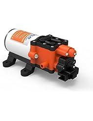 Seaflo 24V 5.1L/min 80psi Pression de l'eau Pompe Pompe à membrane à amorçage automatique électrique pour bateau RVS Campers Vans
