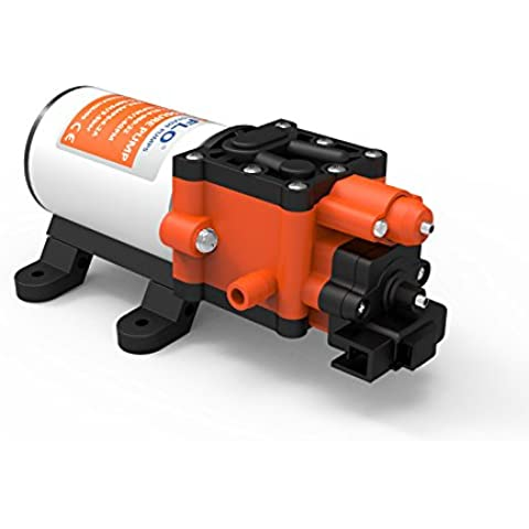 SeaFlo 24V 5.1LPM PSI Pressione dell' acqua pompa elettrica Autoadescante Pompa a membrana per barche RVS Camper Vans