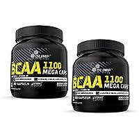 Preisvergleich für Olimp BCAA Mega Caps 1100, 600 Kapseln, 2er Pack (2 x 384 g)
