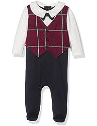 Mamas & Papas Tartan Waistcoat All In One, Polaina para Bebés