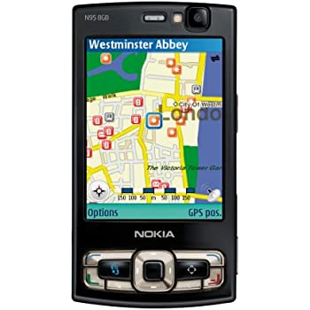 nokia n95 8 gb black smartphone elektronik. Black Bedroom Furniture Sets. Home Design Ideas