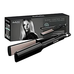 BaByliss 2179U Nano Ceramic 235 Women's Hair Straightener with Heat Mat