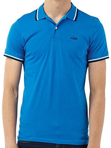 Jack And Jones  -  Polo  - Uomo Royal Blue/Black/White