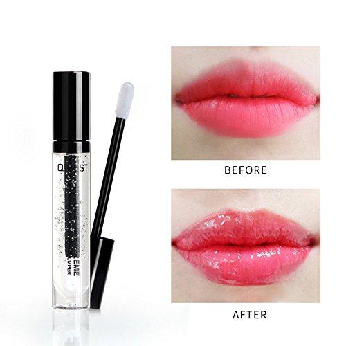 Allbesta Lippen Plump Öl Lipgloss Verblassen Lip Falten Sperren Sie das Öl das befeuchtet Extrem...