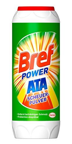 Bref - Sidol Ata Scheuer-Pulver, 15er Pack (15 x 500 g)