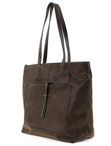 Esprit Odina Sac fourre-tout 32 cm Dark Brown (Marron)