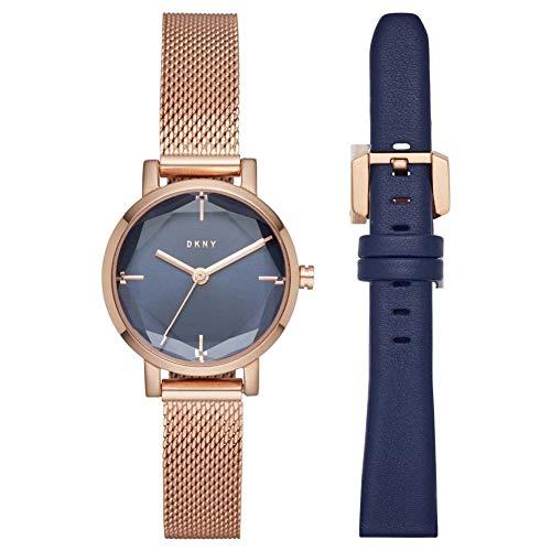 d1ab50205c13 DKNY Reloj Analógico para Mujer de Cuarzo con Correa en Acero Inoxidable  NY2679