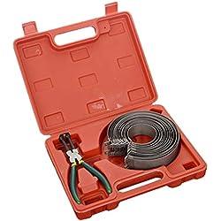 WOSOSYEYO 14Rings Anneau compresseur à Piston Pince de Serrage Assemblée Remover Moteur Outil Cylindre Installer cliquet Pinces 62-140mm