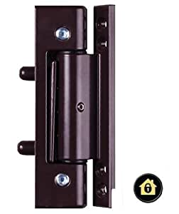 Brown upvc door flat butt hinge 115mm hinge double for Brown upvc door