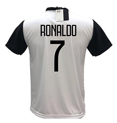 44b09a296f3 Juventus F.C. MAGLIA CRISTIANO RONALDO CR7 MAGLIETTA CALCIO prodotto  ufficiale 2018 19 bambino ragazzo uomo