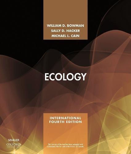 Ecology por William D. Bowman