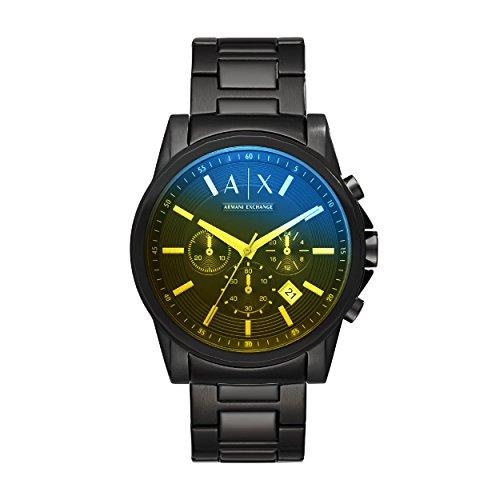 Armani Exchange Reloj Cronógrafo para Hombre de Cuarzo con Correa en Acero Inoxidable AX2513