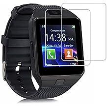 (Paquete de 2) Protector de pantalla DZ09, Cobertura total Protector de pantalla de