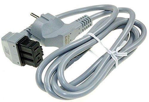 Stromkabel elektrische für Spülmaschine Bosch, Siemens, Neff, gaggenau. Stecker Male Schuko. Länge: 1,7m