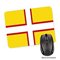 1StopShops Dorset County Flag Rubber Base Mouse Mat