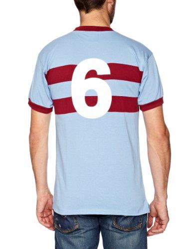 4c58a09e793 West Ham United 1966 No6 Away Retro Football Shirt – Rare Football ...
