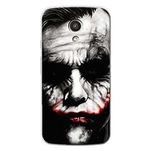 EYP Villain Joker Back Cover Case for Moto G (2nd Gen)