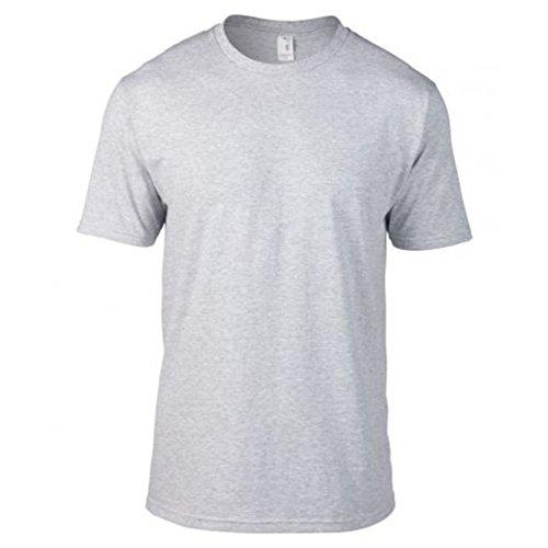 Anvil Shirt Company (Anvil Herren Modern T-Shirt Gr. XL / 116,84 cm-121,92 cm, grau meliert)
