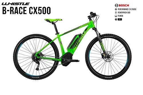 "WHISTLE E-Bike B-Race CX 500 Ruota 29 Motore 75 NM Batteria 500 WH Gamma 2019 (46 CM - 18\"")"