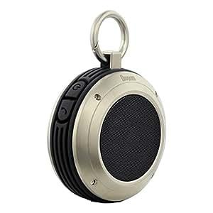 Divoom Voombox Rugged Portable Splash proof and Shock Proof Wireless Bluetooth Speakers (Black)