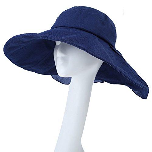 Chapeaux été dames/Chapeau de soleil UV en plein air C