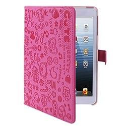 Schützen Sie Ihr iPad Mini mit dieser eleganten, magnetisch verschließbaren, PU Leder-Imitat Tasche. Hochwertiges synthetisches Leder-Imitat, das komfortabel zu händlen und langlebig ist. Diese Tasche schützt das Gerät vor Schmutz, Kratzern und ander...