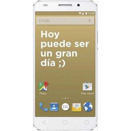 "Primux PTEVO-50IOS615W - Smartphone de 5"" (FHD, Octa Core, 2 GB de RAM, 16 GB de memoria interna)  blanco"