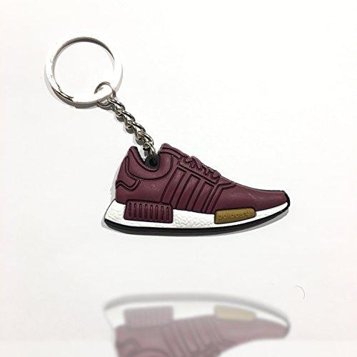 Sneaker Schlüsselanhänger Adi YZY NMD BOOST burgrundy Schlüsselanhänger fashion für Sneakerheads,hypebeasts und alle Keyholder Beluga V2 Copper | ProProCo®