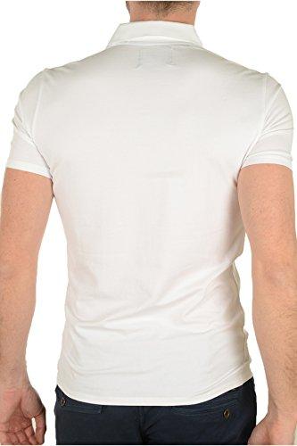 Guess Herren Poloshirt M64p33j1300_a009, Bianco Weiß
