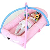 ZLMI Presepe Multi-Funzione Presepe Portatile Sleeping Treasure Baby Travel Bed,A