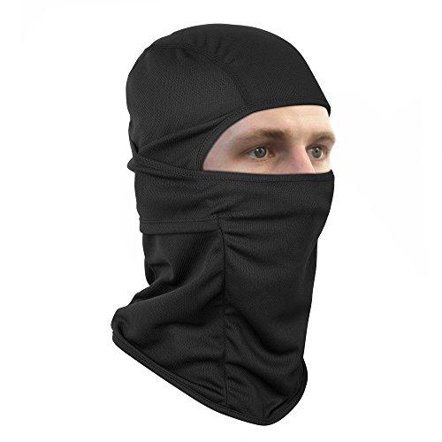 Rusty Bob - Sturmhaube für Motorrad-Fahrer und Ski - Maske Winter-Sport und Outdoor (Schwarz 2) Winter-ski-maske