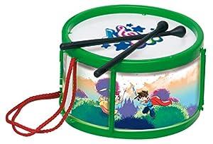 General juguetes- Tambor Infantil Metalizado 22x13cm, (03044)