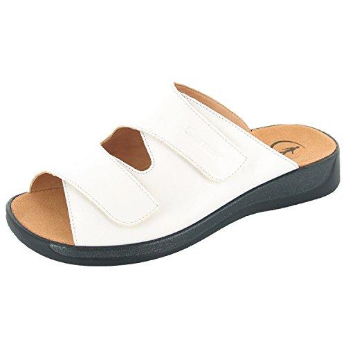 Ganter 5-202501-02000, Chaussures de Claquettes femme Blanc